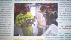 """Crew  """" Nave Esperanza  """" di GreenPeace"""