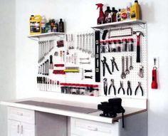 Garage Organization Ideas – Garage Pegboard Organization Systems, Organizers