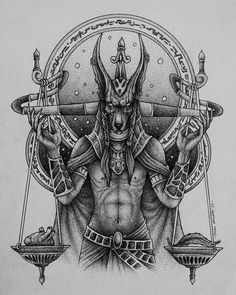 483 Best Anubis Tattoo Images In 2019 Alchemy Drawings Egypt Tattoo