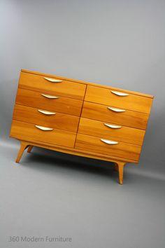 MID Century Modern Chest OF Drawers Sideboard Tallboy Retro Vintage Danish ERA in 360 Modern Furniture VIC | eBay