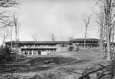 Francis W. Little House II. Wayzata, Minnesota. 1912 -14. Prairie Style. Frank Lloyd Wright.