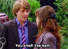 This is how I flirt during Thanksgiving and Christmas time. Or all the time. Chad Dylan Cooper, Sterling Knight, Sonny With A Chance, Classic Movies, Disney Channel, Flirting, Christmas Time, My Love, Laughing