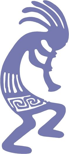 Kokopelli Tattoos - Images, Pictures - Page 11 Native American Flute, Native American Symbols, Native American Fashion, Cherokee Symbols, Native Symbols, Kokopelli Tattoo, Silhouette Cameo, Southwest Art, Gourd Art