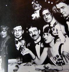 Dadaists during the Roaring Twenties