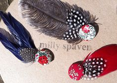 Handmade Feather Trims by Milly Spaven