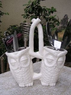 Tootsie Pop Owl Kitchen Caddy on Etsy, $13.25