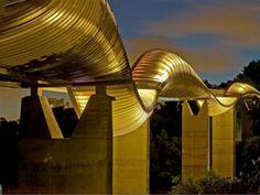 Henderson Waves  Background: The 118-foot tall Henderson Waves is Singapore's tallest pedestrian bridge, linking Mount Faber Park with Telok Blangah Hill Park.