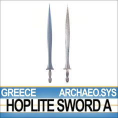 The Greek Hoplite Sword Model A here presented has been reconstructed following the archaeological evidence and the Greek vase-painting repr...