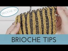 Have You Ever Wanted to Try Brioche Knitting? - The Blue Mouse Loom Knitting Stitches, Easy Knitting Patterns, Knitting Projects, Tips & Tricks, Chunky Yarn, Garter Stitch, Knitting For Beginners, Knit Crochet, Knits