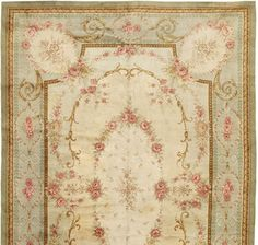 Savonnerie Carpet at Robert Stephenson Handmade Carpets Diy Carpet, Rugs On Carpet, Chabby Chic Living Room, Diy Home Interior, Aubusson Rugs, Pastel Decor, Rug Inspiration, Needlepoint Pillows, Fabric Rug