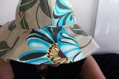 Lorenna Buck Designs - Tutorial for Sun & Rain Hat.