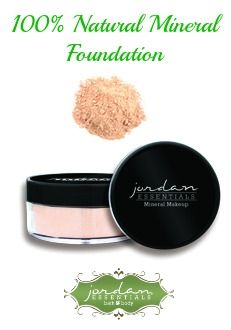 Our Jordan Essentials Mineral Powder for shown in Light is absolutely the best foundation you'll ever use! It's 100% natural that feels weightless all while providing amazing coverage. A 8gr jar is just $20