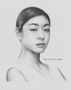 Yuna Kim Fanart by UncleD / Cr : http://blog.naver.com/vanwall