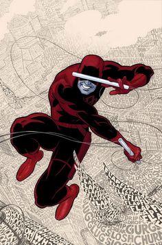 Daredevil #1 by Paolo Rivera