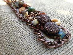 Shoreline Bracelet by kimberlyddesigns on Etsy, $85.00
