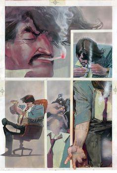 ELEKTRA ASSASSIN #2 PG 10 BY BILL SIENKIEWICZ Comic Art