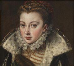 Joven desconocida | século XVI | Alonso Sánchez Coello | | 26x28 cm | Museo Nacional del Prado