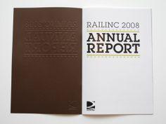 20 Annual Report Design Ideas for 2010   Best Design Options