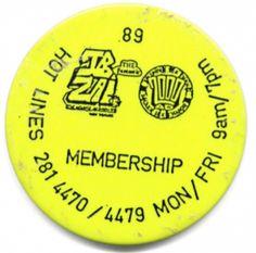 Fantastic Ibiza & 2000AD acid house badge 1989 - uploaded to #phatmedia #raveflyers