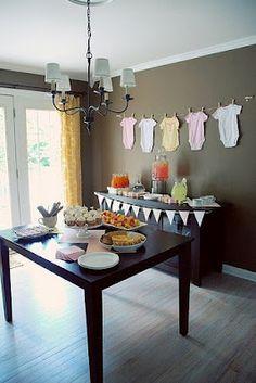 Gil: CHÁ DE BEBE, do convite a decoração, presentes, várias sugestões.