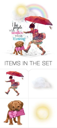 """Sprinkles In The Rain"" by majezy ❤ liked on Polyvore featuring art"