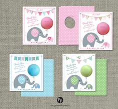 Printed (front & back) with holes punched out! Baby Shower Party Favor Gift Tags for eos lip balm Printed Favor Tags measure 4 x 4.5 Heavy Card Stock Coated 100lb Recycled Paper Professionally Printed All you need to do is add lip balm! EOS lip balm not included. Matching