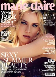 Marie Claire UK August 2013