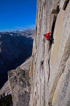 Photographer: Jimmy Chin Athlete: Alex Honnold Location: Yosemite, CA, USA