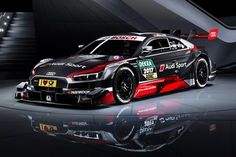 Audi unveiled in Geneva their new race car for the DTM. The new Audi DTM features a new engine and is fully compatible with the Super GT Championship of Japan Audi R8 Gt, Audi 2017, Audi Sport, Sport Cars, Gt Cars, Race Cars, Le Mans, Liberty Walk Cars, Ferrari