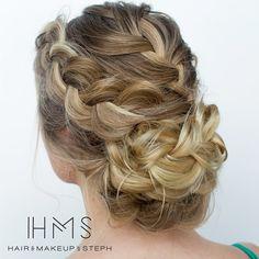 Braids on braids. #hairandmakeupbysteph