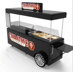 Food Stall Design, Food Cart Design, Food Truck Design, Food Trucks, Cold Stone Creamery, Commercial Cooking Equipment, Soup Bar, Mobile Coffee Shop, Mobile Cafe