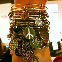 Charmed arms! Alex and Ani