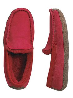 Lands' End Shearling Venetian Loafer Women's Slippers  Review