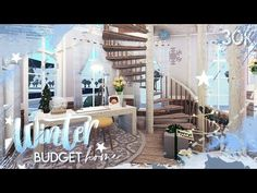 Two Story House Design, Tiny House Layout, Unique House Design, House Layouts, Small Beach Houses, Modern Family House, Christmas Interiors, Cute House, Winter House