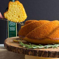 Rosemary, Olive Oil & Polenta Bundt – #BundtBakers