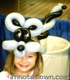 My first Balloon Raccoon