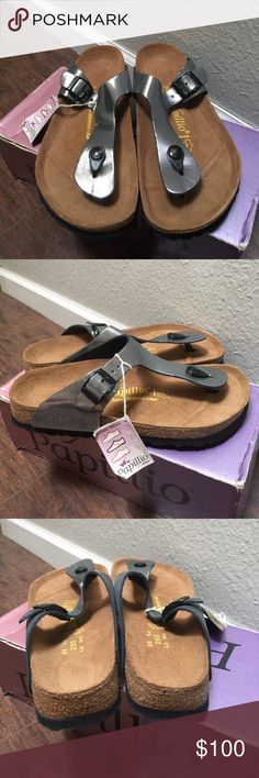 New Birkenstock Papillo Gizeh Sandals New in box Birkenstock Papillo Gizeh Sandals size L8 Birkenstock Shoes Sandals