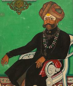 Maharaja Krishnaraja Wodeyar III   Source: Ashmolean Museum University of Oxford    via Rare Book Society of India