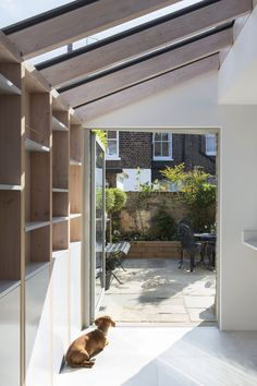 Timber Frame Two — YARD Architects Extension Designs, House Extension Design, House Design, Extension Ideas, Roof Extension, Single Storey Extension, Side Return Extension, Bungalow Extensions, House Extensions