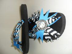 fun flip flop bottle cap idea