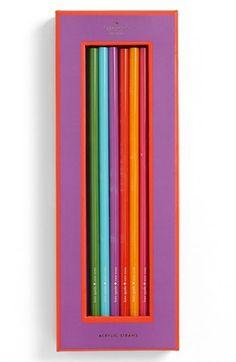 kate spade new york acrylic straws (set of 6)   Nordstrom