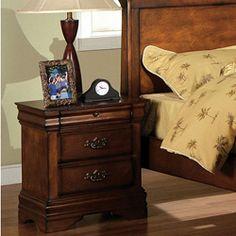 Furniture Of America Florence Dark Oak Night Stand
