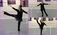Classic Ballet Barre Workout, start at 2:14 to get straight to the workout