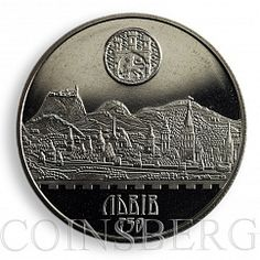 Ukraine 2 UAH, 750th Anniversary of the City of Lviv Ancient Lemberg, 2006, Coin