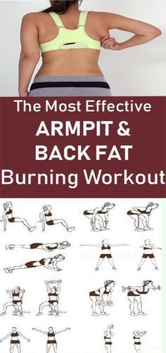 You Can Remove Back and Underarm Fat With Just 5 Workouts