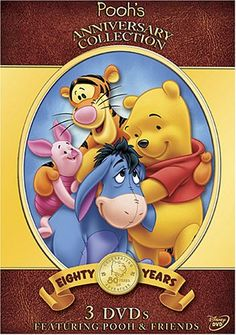 Pooh's Anniversary Collection: Pooh's Heffalump Movie/Piglet's Big Movie/The Tigger Movie