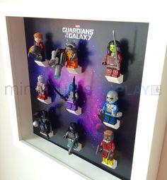 Lego Guardians of Galaxy minifigures por LegoMinifiguresFrame