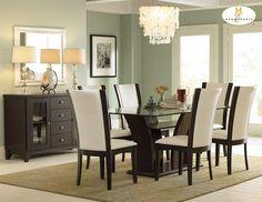 Dining Room Set Ideas http://thebestinterior.com/2689-dining-room-set-ideas