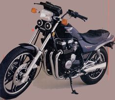 Honda CB 650SC Nighthawk, my first fast bike