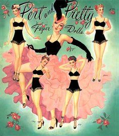 Pert and Pretty Paper Dolls